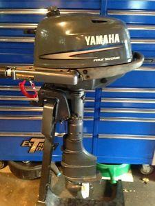 2002 Yamaha 4 HP 4 Stroke Outboard Motor Boat Engine 6 8 9 9 15 Honda Mercury