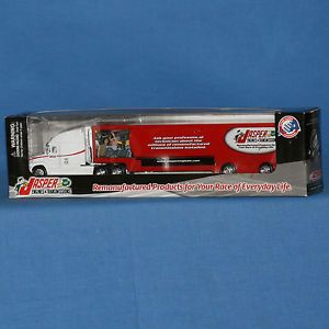 Action Racing Jasper Engines Transmissions Collectible Hauler 1 64th Scale