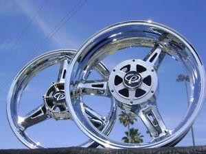 Yamaha RoadStar Warrior Road Star Chrome Wheels Rims