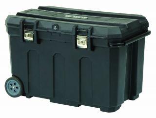 Tool Box Chest Rolling Portable Mobile Combo Jobsite Storage Bins Wheels Black
