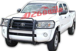 2005 2011 Toyota Tacoma Black Grille Guard Push Bar