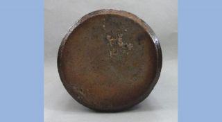 Antique Lovatt Lovatt Notts Langley Mill Chocolate Stoneware Ink Bottle A