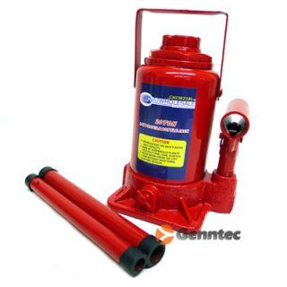 20 Ton Low Profile Bottle Jack Shop Equipment Automotive Garage Lift Heavy Duty
