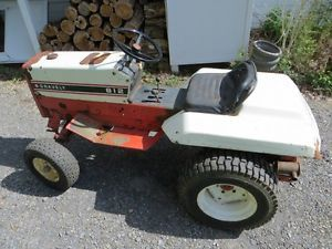 "Gravely 812 Tractor with 50"" Mower Deck and Front Adapter"