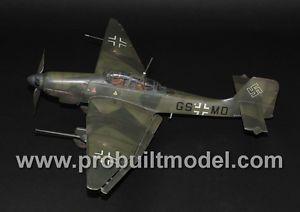 """Luftwaffe Junker Ju 87g Stuka """"Kanonenvogel"""" WW2 1 32 Pro Built Model Order"""