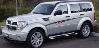 Talon Premium Vinyl 8 Year Decal Stripes Graphics for Dodge Nitro SUV
