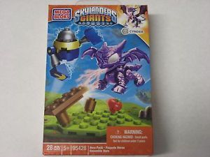 Mega Blocks Skylanders Giants Cynder Building Blocks NIP New SEALED