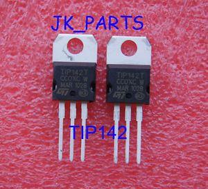 5 Pairs TIP142 TIP147 NPN PNP Transistors