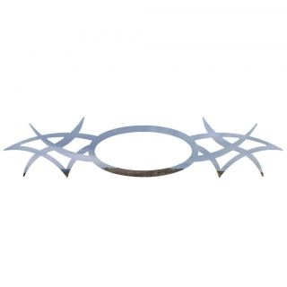Ford F150 04 08 Polished Stainless Tribal Tailgate Emblem Car Accessories