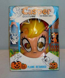 Vintage Collegeville Casper Wendy Good Witch Halloween Costume 217 Kid Size Med