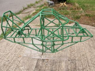 Custom 1 10 Grave Digger Monster Truck Tube Chassis Clodbuster Crawler Frame Era