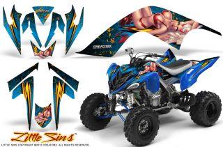 Yamaha Raptor 700 Graphics Kit Decals Stickers Creatorx Lsbli