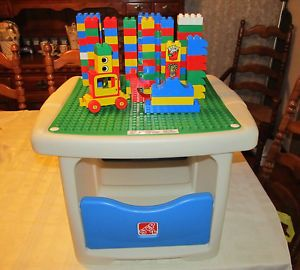Step  Lego Duplo Building Table