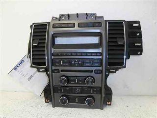 2010 2012 Ford Taurus Radio Heater Control Panel