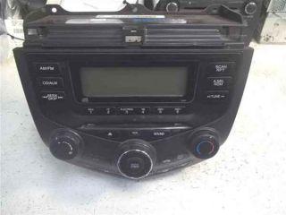 03 07 Honda Accord 4DR CD Player Radio 2AC0 LKQ