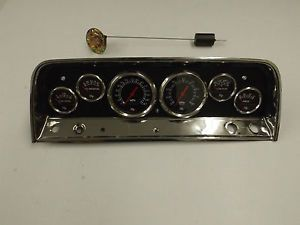 1964 1965 1966 Chevy Pickup Truck Instrument Dash Panel
