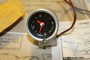 Original Chevrolet 1965 66 Chevelle Corvair Chevyii Pickup Truck Dash GM Clock