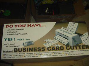 Cardmate business card cutter business card slitter manual free template colourmoves