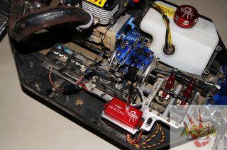Dual Steering Servo Mount for Losi 5IVE T