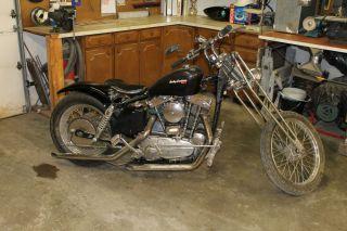 Harley Davidson Sportster Parts Bike