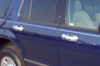 SAA DH43330 02 10 Ford Explorer Door Handle Cover Truck SUV Chrome Accessories