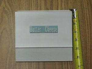 Vintage Travel Trailer camper RV Refrigerator Door Butter Cheese Parts
