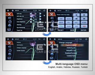 ETO Chrysler 300 Sebring Dodge Coliver Journey Car GPS Navigation Auto Radio DVD