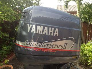 Immaculate 1997 Yamaha 225 HP Saltwater Series II OX66 Fuel