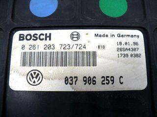 1995 1996 VW Jetta Golf ECU ECM Engine Computer 037906259C UU