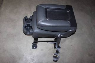 Leather Center Console Jump Seat 99 06 Chevy Silverado Sierrea Tahoe Suburban