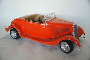 1 4 Scale R C 34 Ford Roadster Powered by Gas Engine