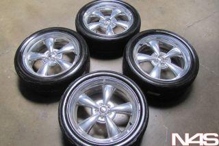 """20"""" RARE Dodge Challenger Heritage Nostalgia Chrome Wheels Rims Nitto Tires"""