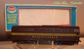 Model Power Dummy Pennsylvania Railroad Baldwin Shark Nose Diesel Engine HO