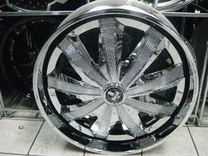 "28"" Dub Kraay Spinner Wheels Tires Floaters asanti 30 Davin 26 Forgiato Lexani"