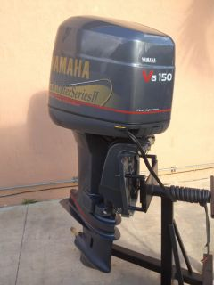 Immaculate 1997 yamaha 225 hp saltwater series ii ox66 for Yamaha saltwater series ii