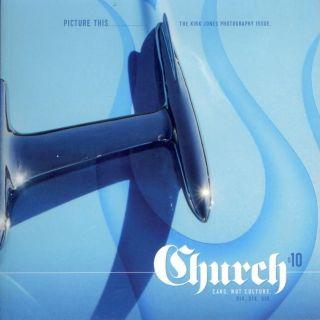 Church Magazine 6 Custom Rat Hot Rod Photography Old School Retro Vtg Style