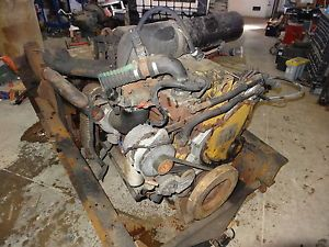 Cat Caterpillar 3116 6 6L 6 Cyl Diesel Engine Motor 155K Miles