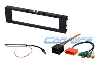 Audi Car Stereo Radio Kit Dash Installation Trim Bezel with Bose Wiring Harness