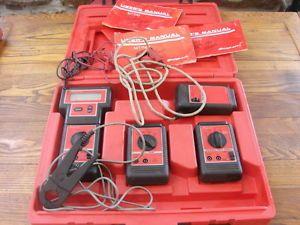 Snap on Interface System 1 MT1110 MT1120 MT1130 MT1140 Tach Dwell Ohm Volt Meter