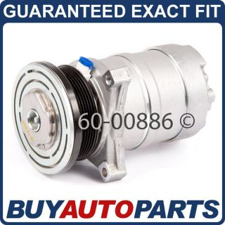 Denso 472 0124 New AC Compressor without Clutch