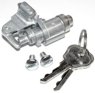 1940 Glove Box Door Lock w Keys Vtg Style Ford Replcement Rat Hot Rod Dash Part