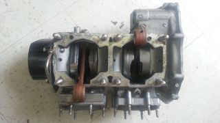 Kawasaki 750 Lower End Engine Motor Cases Crankshaft Jet Ski Big Pin Crank