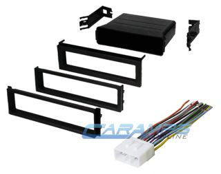 Subaru Car Stereo Radio Kit Dash Installation Trim Bezel w Wiring Harness WRX