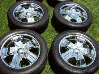 20 Chevrolet Silverado Suburban GMC Tahoe 1500 Yukon Denali Chevy Wheels Tires