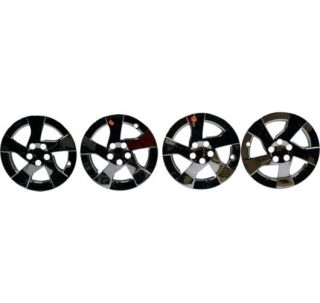 Set of 4 Wheel Cover Open Box Chrome Toyota Corolla 2010 Prius 2011