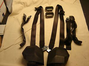 73 75 76 77 78 79 80 81 82 83 84 85 86 87 Chevy GMC Truck Charcoal Seat Belts