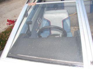 Boat Bayliner Capri Windshield Glass Right Front Panel