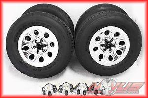 "17"" Chevy Silverado Tahoe GMC Sierra Chrome Steel Wheels Tires 18 16 20"