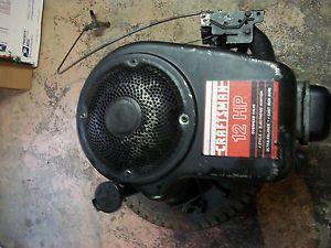 Tecumseh 12 HP Vertical Shaft Engine Craftsman