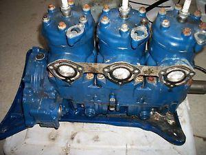 Freshwater 1995 Polaris SLT 750 PWC Engine Motor Crank Crankshaft Cases Bottom